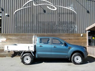 2012 Ford Ranger PX XL Hi-Rider Grey 6 Speed Sports Automatic Cab Chassis.