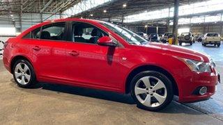 2013 Holden Cruze JH Series II MY13 Equipe Red 6 Speed Sports Automatic Sedan.
