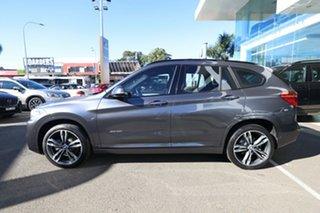 2016 BMW X1 F48 xDrive 25I Mineral Grey 8 Speed Automatic Wagon