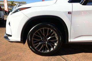 2017 Lexus RX350 GGL25R MY17 F-Sport White 8 Speed Automatic Wagon.
