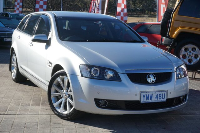 Used Holden Calais VE MY09.5 V Sportwagon Phillip, 2009 Holden Calais VE MY09.5 V Sportwagon Silver 5 Speed Sports Automatic Wagon