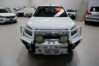 2012 Isuzu D-MAX MY12 LS Crew Cab 4x2 High Ride White 5 Speed Manual Utility.