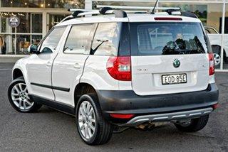 2011 Skoda Yeti 5L 103TDI DSG White 6 Speed Sports Automatic Dual Clutch Wagon.