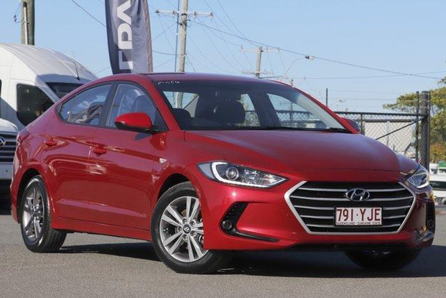 Used Hyundai Elantra AD MY17 Active Rocklea, 2017 Hyundai Elantra AD MY17 Active Fiery Red 6 Speed Sports Automatic Sedan
