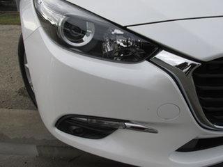 2019 Mazda 3 BN MY18 Maxx Sport (5Yr) White 6 Speed Automatic Sedan.