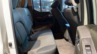 2012 Nissan Navara D40 S5 MY12 ST-X 550 White 7 Speed Sports Automatic Utility