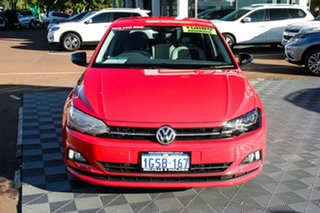 2018 Volkswagen Polo AW MY18 beats DSG Red 7 Speed Sports Automatic Dual Clutch Hatchback