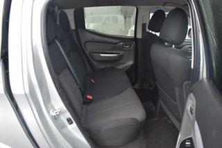 2017 Mitsubishi Triton MQ MY17 GLS Double Cab Billet Silver 5 Speed Sports Automatic Utility