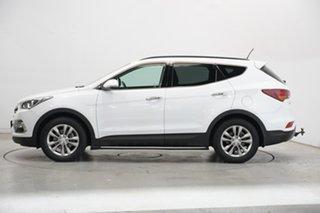 2017 Hyundai Santa Fe DM3 MY17 Elite White 6 Speed Sports Automatic Wagon.