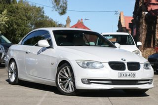 2010 BMW 3 Series E93 MY11 325i Steptronic 6 Speed Sports Automatic Convertible.