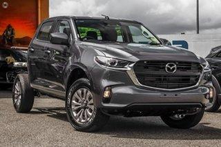 2021 Mazda BT-50 TFR40J XT 4x2 Grey 6 Speed Sports Automatic Cab Chassis.