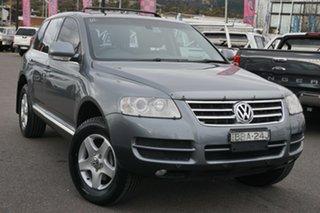 2006 Volkswagen Touareg 7L MY07 V6 TDI 4Xmotion Grey 6 Speed Sports Automatic Wagon.