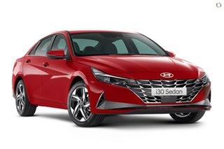 2021 Hyundai i30 CN7.V1 MY21 Elite Red 6 Speed Sports Automatic Sedan