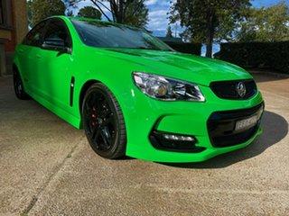 2017 Holden Commodore VF II MY17 SS V Redline Green 6 Speed Sports Automatic Sedan.