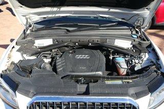 2013 Audi Q5 8R MY13 2.0 TDI Quattro White 7 Speed Auto Dual Clutch Wagon