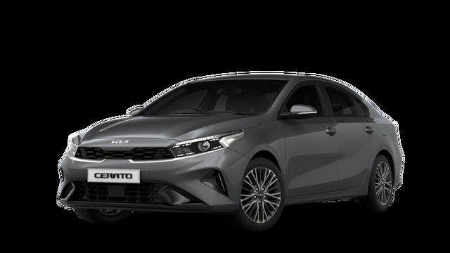 New Kia Cerato BD MY22 Sport+ St Marys, 2021 Kia Cerato BD MY22 Sport+ Platinum Graphite 6 Speed Sports Automatic Sedan