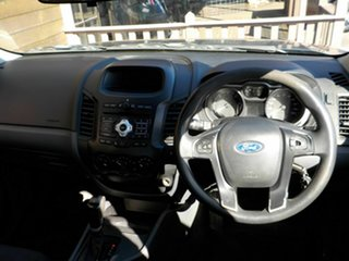 2012 Ford Ranger PX XL Hi-Rider Grey 6 Speed Sports Automatic Cab Chassis