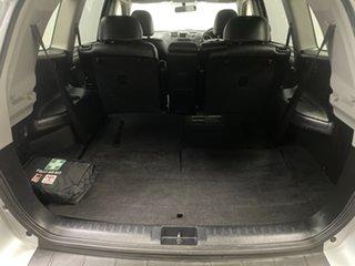 2012 Toyota Kluger GSU45R MY12 KX-S AWD Silver 5 Speed Sports Automatic Wagon