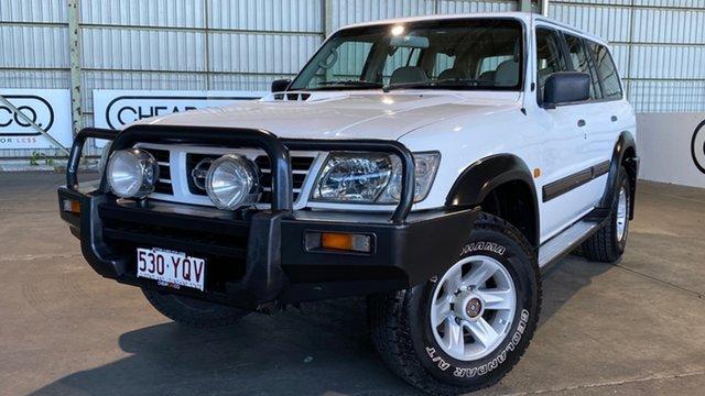 Used Nissan Patrol GU III MY2003 ST Rocklea, 2004 Nissan Patrol GU III MY2003 ST White 4 Speed Automatic Wagon