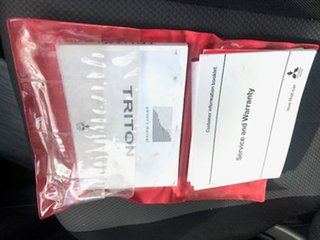 2018 Mitsubishi Triton MQ MY18 GLX White 6 Speed Manual Cab Chassis