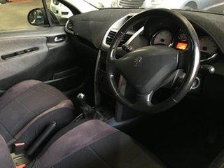 2008 Peugeot 207 A7 XT Black 5 Speed Manual Hatchback.