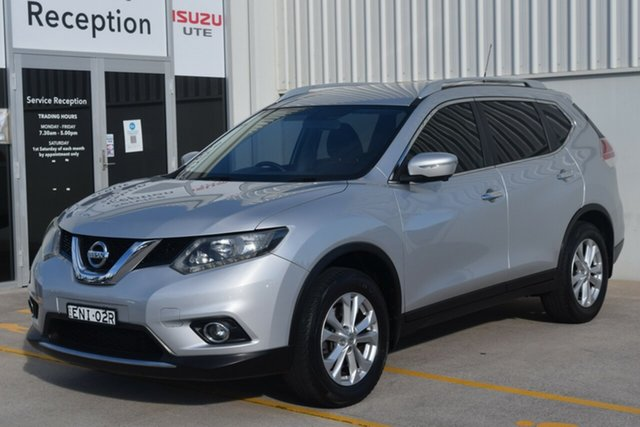 Used Nissan X-Trail T32 ST-L X-tronic 2WD Rutherford, 2014 Nissan X-Trail T32 ST-L X-tronic 2WD Silver 7 Speed Constant Variable Wagon