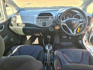 2010 Honda Jazz GE MY10 GLI Limited Edition White 5 Speed Automatic Hatchback