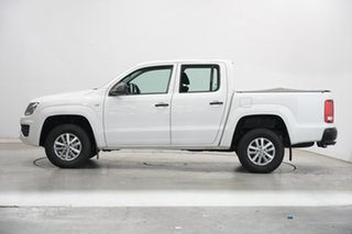 2017 Volkswagen Amarok 2H MY17 TDI420 4MOTION Perm Core Candy White 8 Speed Automatic Utility.