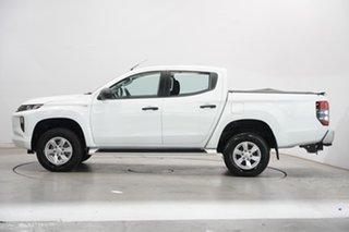 2019 Mitsubishi Triton MR MY20 GLX+ Double Cab White 6 Speed Sports Automatic Utility.