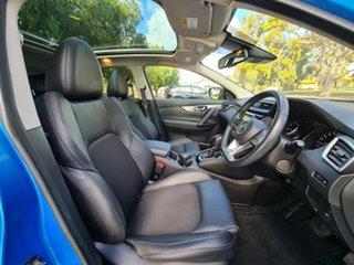 2017 Nissan Qashqai J11 Series 2 N-TEC X-tronic Blue 1 Speed Constant Variable Wagon.