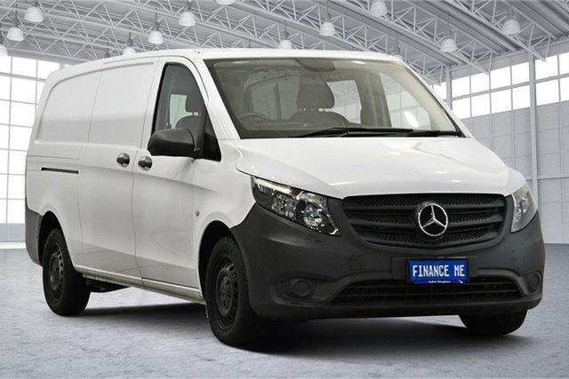 Used Mercedes-Benz Vito 447 111CDI LWB Victoria Park, 2017 Mercedes-Benz Vito 447 111CDI LWB White 6 Speed Manual Van