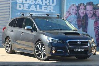 2016 Subaru Levorg MY17 2.0 GT-S (AWD) Dark Grey Continuous Variable Wagon.