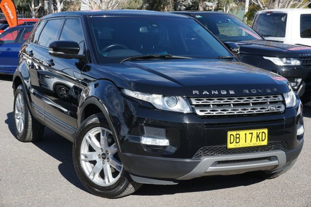 Used Land Rover Range Rover Evoque L538 MY13 TD4 CommandShift Pure Phillip, 2013 Land Rover Range Rover Evoque L538 MY13 TD4 CommandShift Pure Black 6 Speed Sports Automatic
