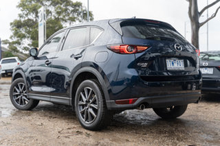 2017 Mazda CX-5 KF4WLA Akera SKYACTIV-Drive i-ACTIV AWD Deep Crystal Blue 6 Speed Sports Automatic.
