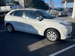 2018 Suzuki Baleno EW GL White 4 Speed Automatic Hatchback