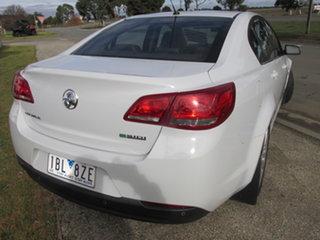2013 Holden Commodore VF MY14 International White 6 Speed Automatic Sedan