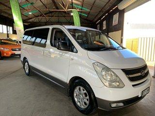 2008 Hyundai iMAX TQ-W White 4 Speed Automatic Wagon.