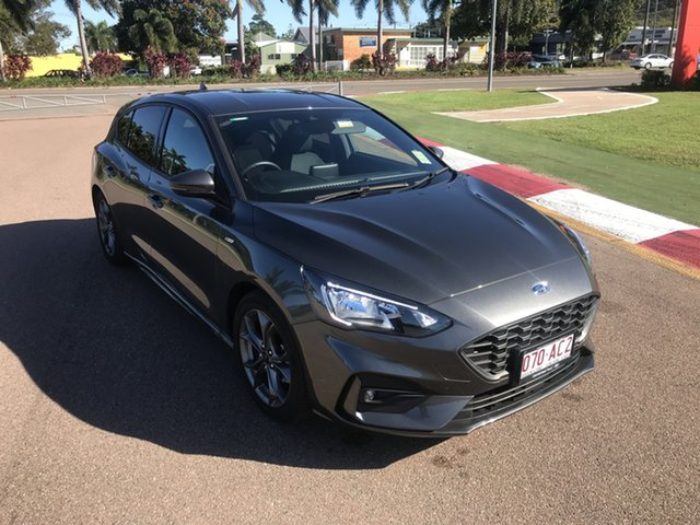 Used Ford Focus SA 2019.25MY ST-Line Townsville, 2019 Ford Focus SA 2019.25MY ST-Line Magnetic 8 Speed Automatic Hatchback