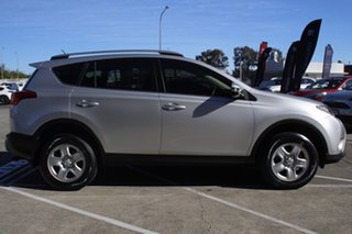 2015 Toyota RAV4 ZSA42R MY14 GX 2WD Silver Pearl 7 Speed Constant Variable Wagon