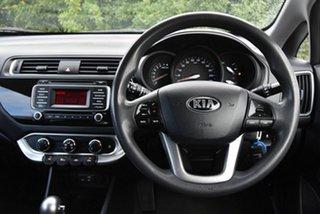 2015 Kia Rio UB MY16 S White 4 Speed Sports Automatic Hatchback