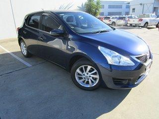 2014 Nissan Pulsar C12 ST Blue 1 Speed Constant Variable Hatchback.