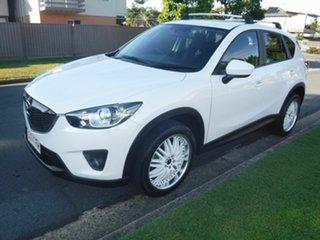 2013 Mazda CX-5 White 5 Speed Automatic Wagon