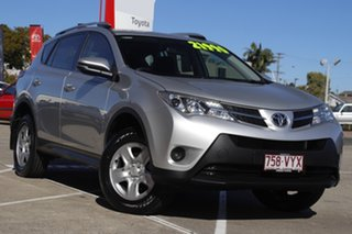2015 Toyota RAV4 ZSA42R MY14 GX 2WD Silver Pearl 7 Speed Constant Variable Wagon.