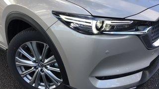 2021 Mazda CX-8 KG2W2A Asaki SKYACTIV-Drive FWD Platinum Quartz 6 Speed Sports Automatic Wagon.