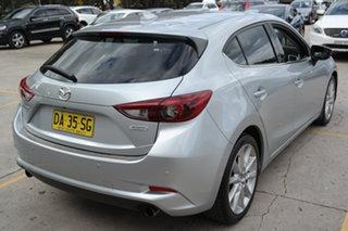 2017 Mazda 3 BN5438 SP25 SKYACTIV-Drive GT Silver 6 Speed Sports Automatic Hatchback