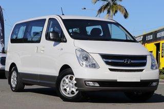 2014 Hyundai iMAX TQ-W MY15 Vanilla White 5 Speed Automatic Wagon.
