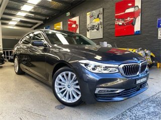 2020 BMW 6 Series G32 620d Luxury Line Black Sports Automatic Hatchback.