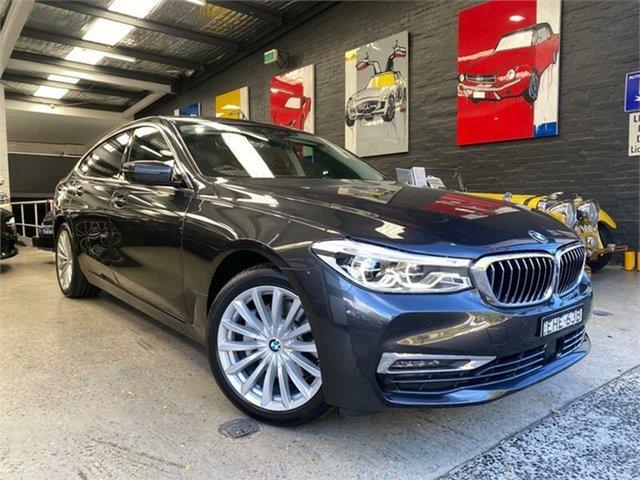 Used BMW 6 Series G32 Glebe, 2020 BMW 6 Series G32 620d Luxury Line Black Sports Automatic Hatchback