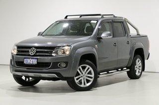 2014 Volkswagen Amarok 2H MY14 TDI420 Ultimate (4x4) Grey 8 Speed Automatic Dual Cab Utility.