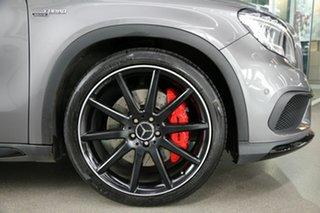 2017 Mercedes-Benz GLA-Class X156 807MY GLA45 AMG SPEEDSHIFT DCT 4MATIC Grey 7 Speed